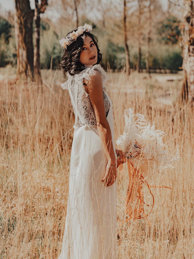 Robe de mariée vintage dentelles