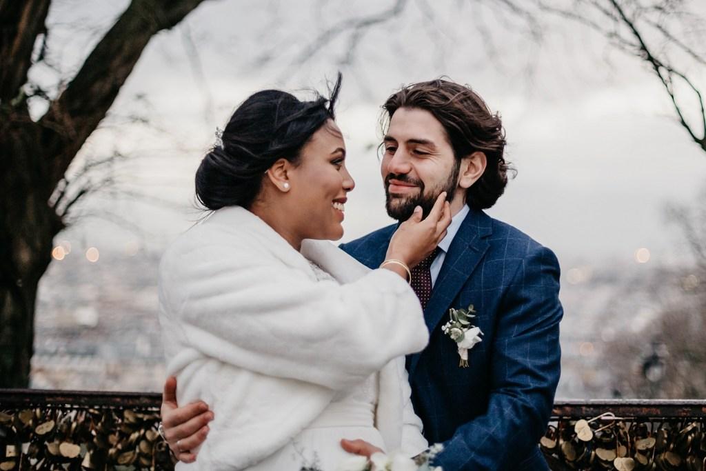 Nicolas Gaudry couple de mariés