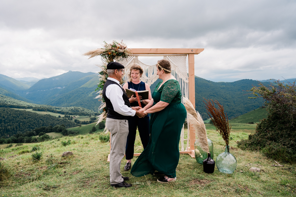 Noces d'ambre shooting mariage