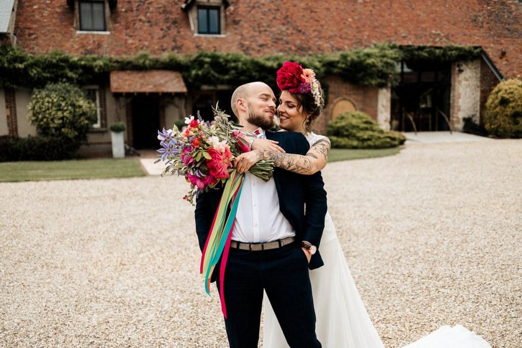 découverte de mariés Rainbow love