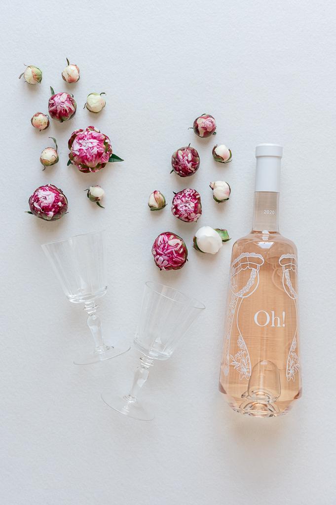 rosé mariage