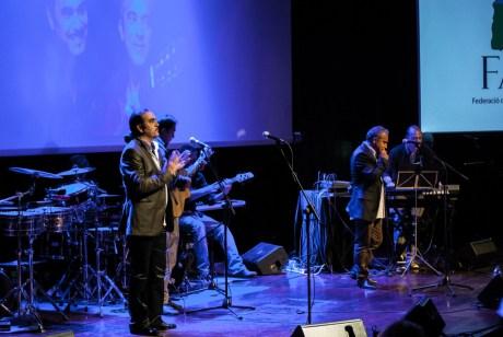 Los Banis, primera actuació de la nit. Judit Valdés