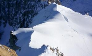 Hiver à Chamonix Mont Blanc - vallée blanche
