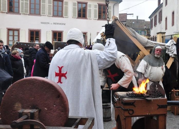 Le marché de Noël médiéval de Ribeauvillé - artisans