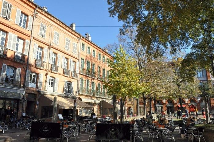 10 lieux moins connus à voir à Toulouse - Place Saint Georges