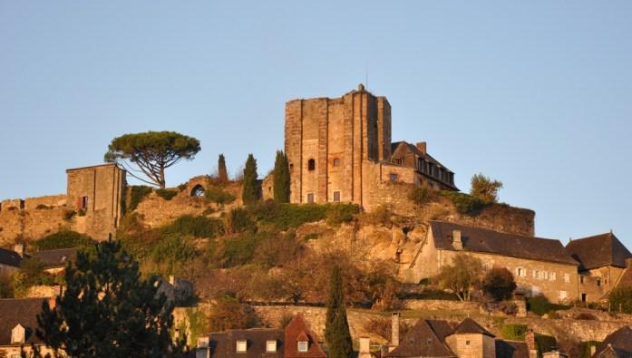 Les ruines du château de Turenne