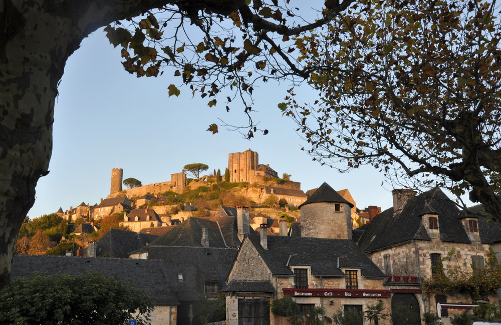 Vue du village de Turenne