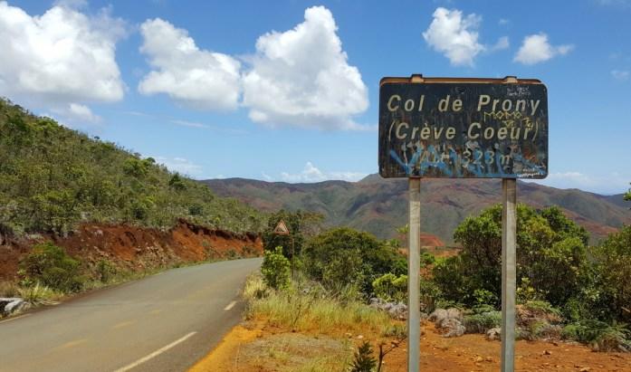 Nouvelle Calédonie : col de Prony