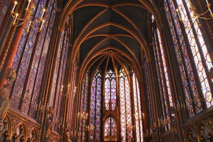 Paris - La Chapelle haute de la Sainte Chapelle