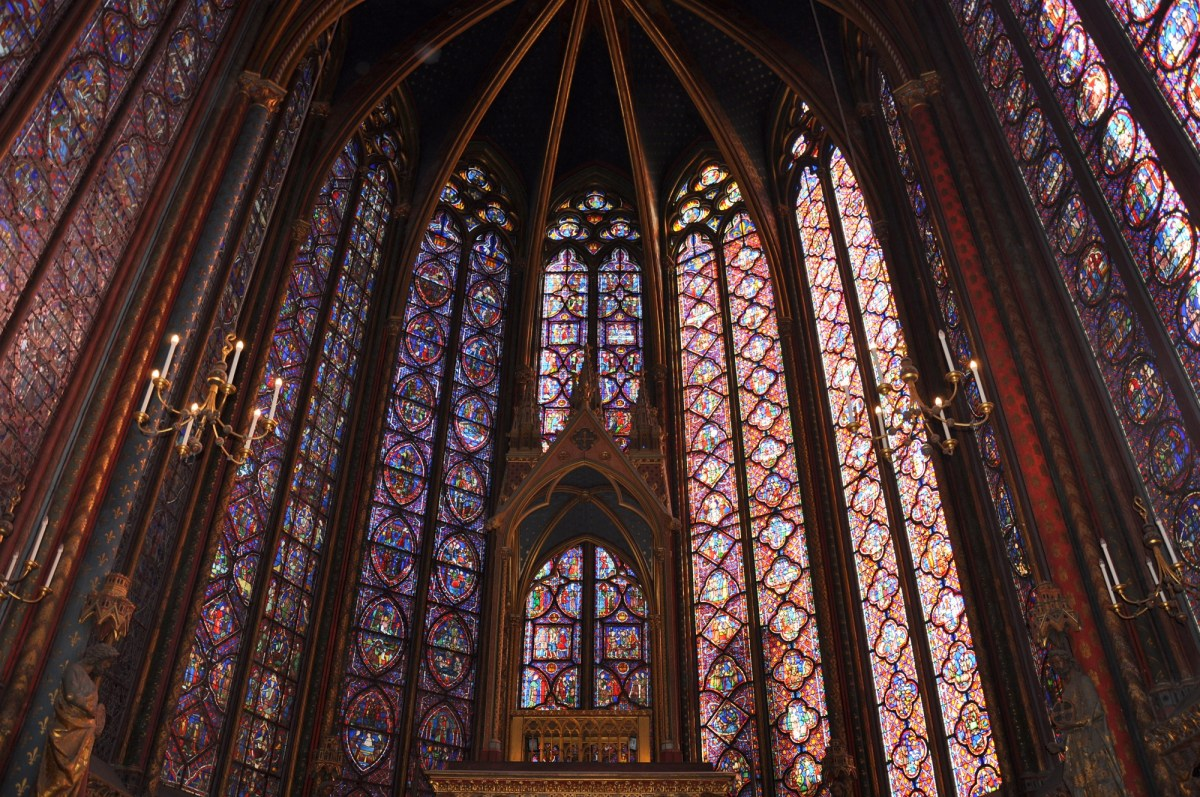 Somptueux intérieur de la Sainte Chapelle