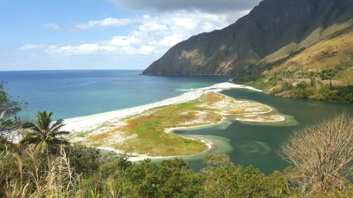 Nouvelle Calédonie - estuaire de la Ouaième