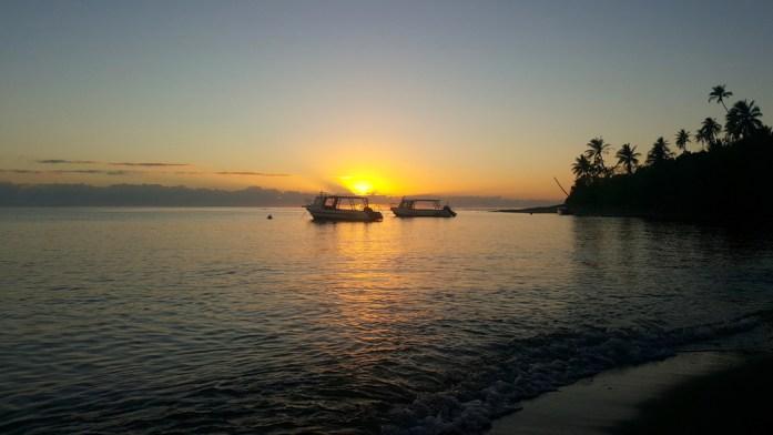 Lever de soleil en Nouvelle Calédonie