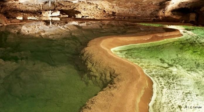Gouffre de Padirac - lac des gours