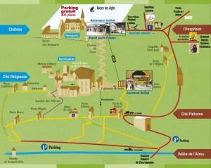 Plan de Rocamadour