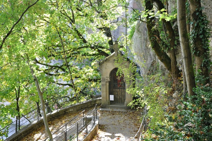 Rocamadour - station du chemin de croix