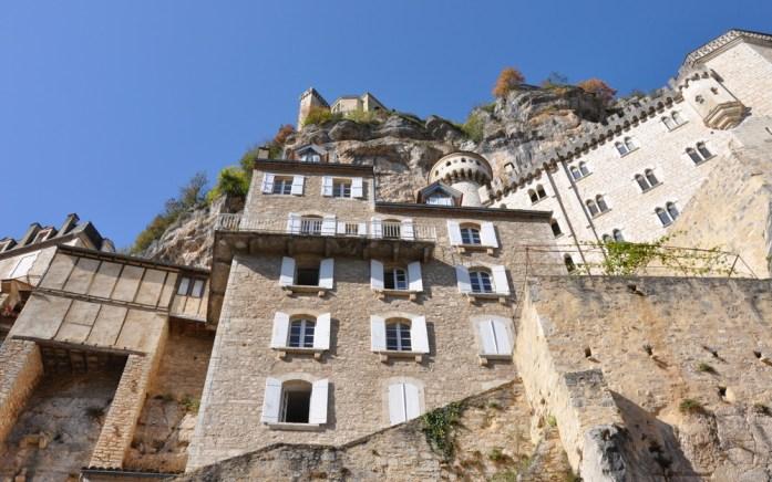 L'escalier des pèlerins de Rocamadour