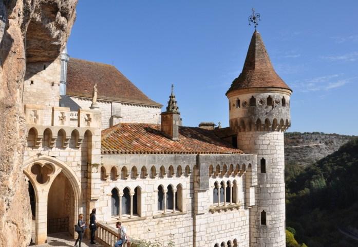 Ancien palais épiscopal de Rocamadour