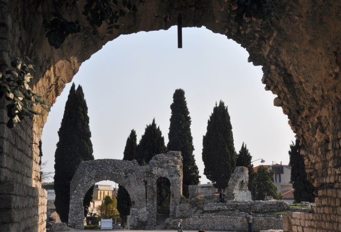 Visiter Nice en un week-end - les arènes de Cimiez