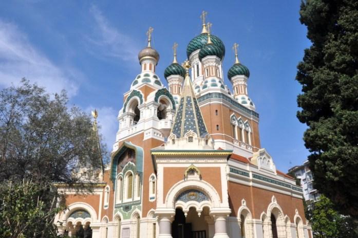 Visiter Nice en un week-end - la cathédrale russe