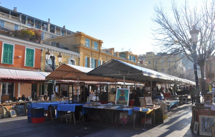 Visiter Nice en un week-end : marché du cours Saleya