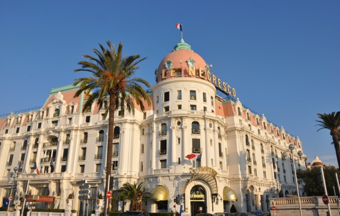 Visiter Nice en un week-end : hôtel Negresco