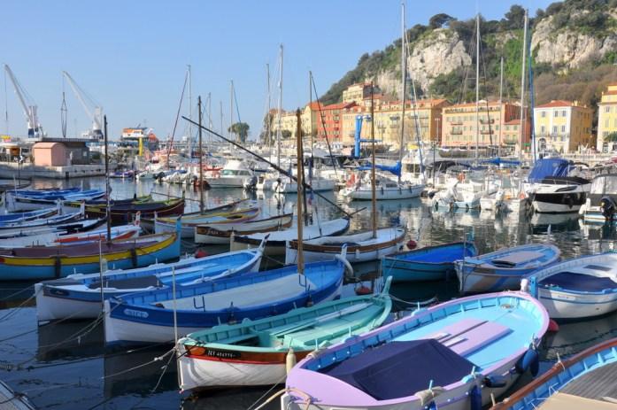 Visiter Nice en un week-end : les barques de pêcheurs
