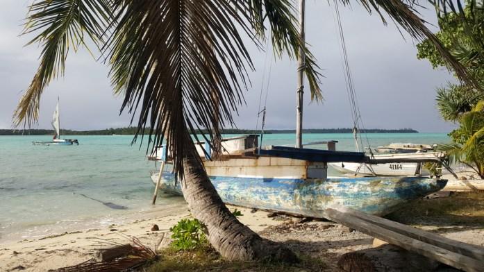 Les îles de Nouvelle Calédonie - pirogue