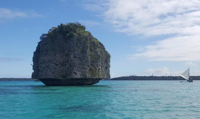 Les îles de Nouvelle Calédonie - baie d'Upi