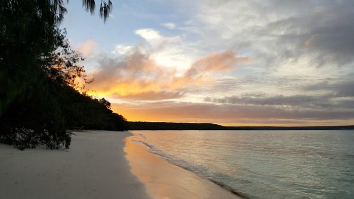 Îles de Nouvelle Calédonie - couchant sur Lifou