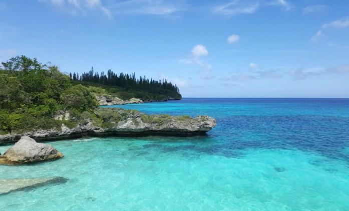 Îles de Nouvelle Calédonie - plage de Pedé à Maré