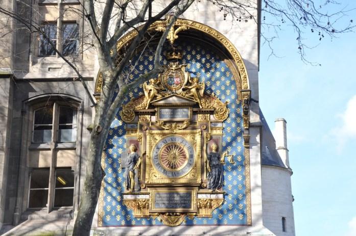 Paris en records - horloge de la Conciergerie