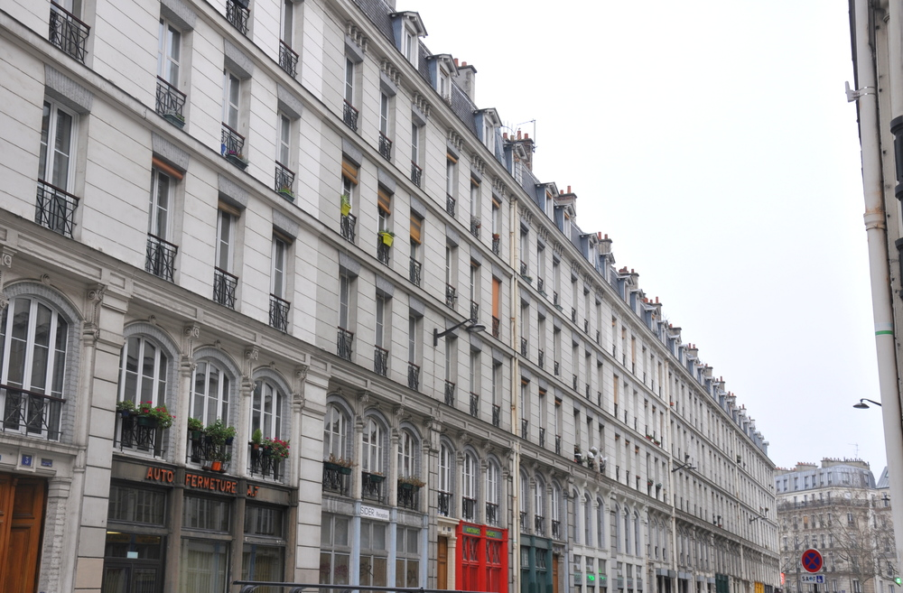Paris en records - rue la plus uniforme