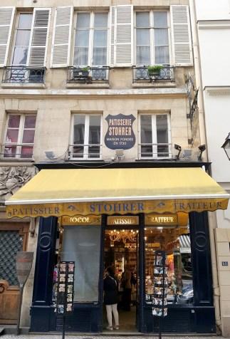 Paris en records - la plus vieille pâtisserie