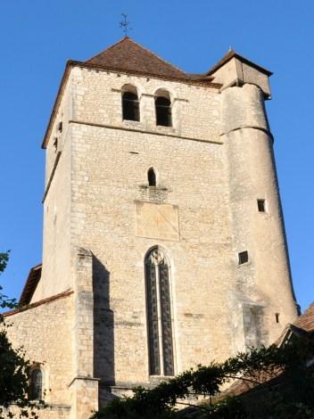 Eglise de Saint Cirq-Lapopie