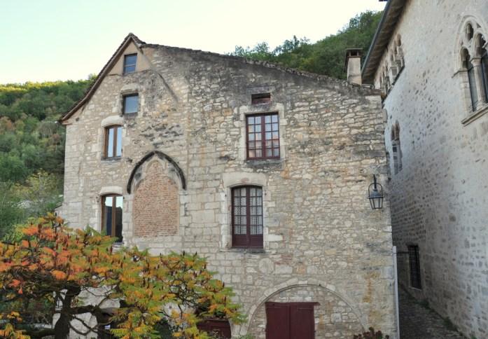 Maison en pierre à Saint Cirq-Lapopie