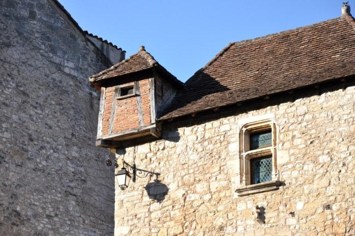 Saint Cirq-Lapopie - maison à tourelle