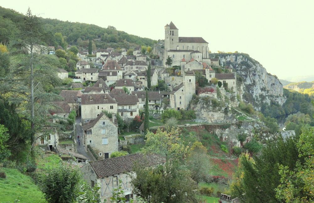 Le village de Saint Cirq-Lapopie