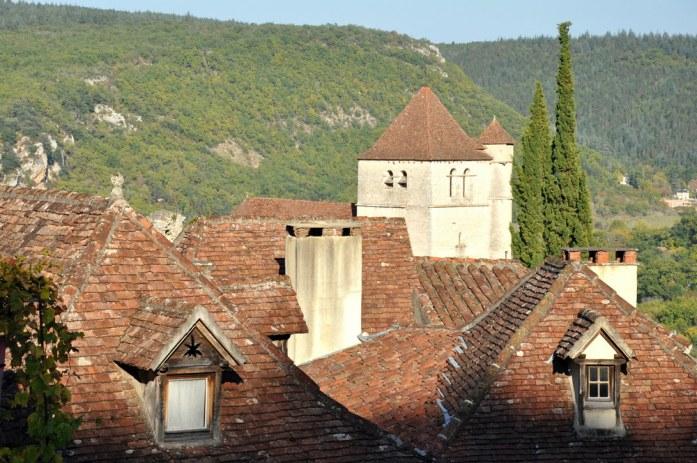 Les toits de Saint Cirq-Lapopie