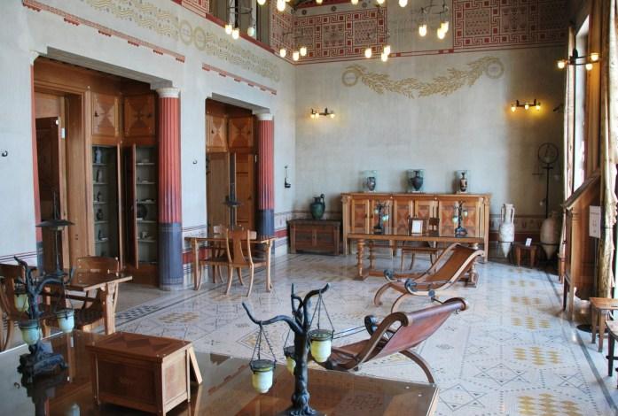 Beaulieu - intérieur de la villa Kerylos