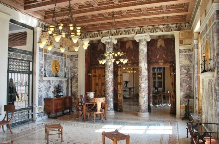 Beaulieu - salon de la villa Kerylos