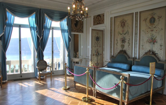 Cap Ferrat - chambre de la villa Ephrussi de Rothschild