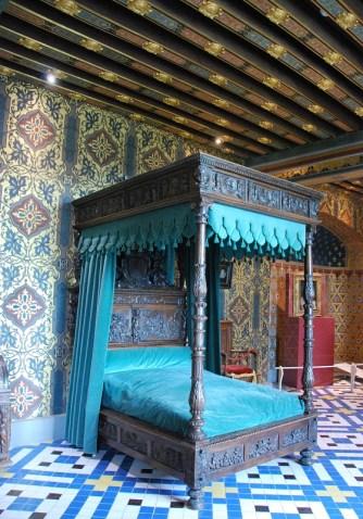 Château de Blois - chambre de la Reine