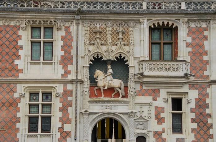 Château de Blois - façade gothique
