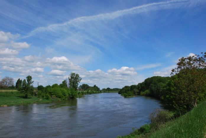La Loire à vélo - bord de Cher