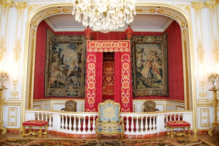 Château de Chambord - chambre du roi