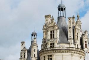 Château de Chambord - vue sur les toits