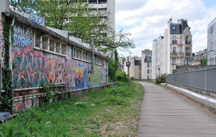 Paris au vert - petite ceinture du 15e
