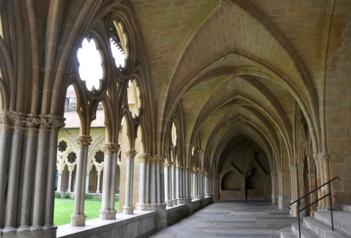 Bayonne en 1 jour - cloître de la cathédrale