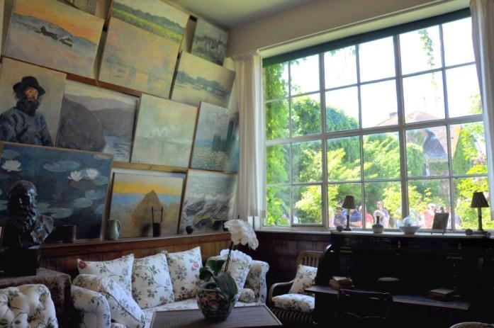 Une journée autour de Giverny - atelier de Monet