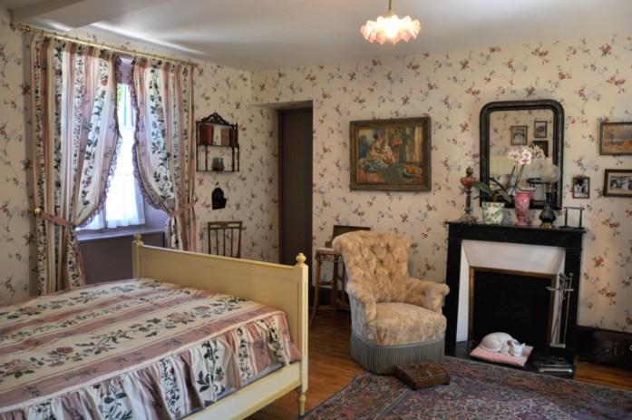 Une journée autour de Giverny - chambre de la maison de Monet